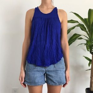 Cobalt Blue Tank Top